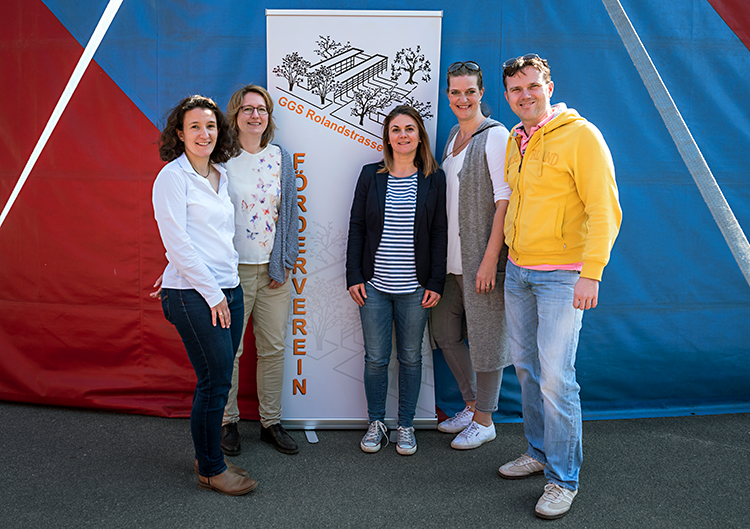 Das Team des Fördervereins GGS Rolandschule
